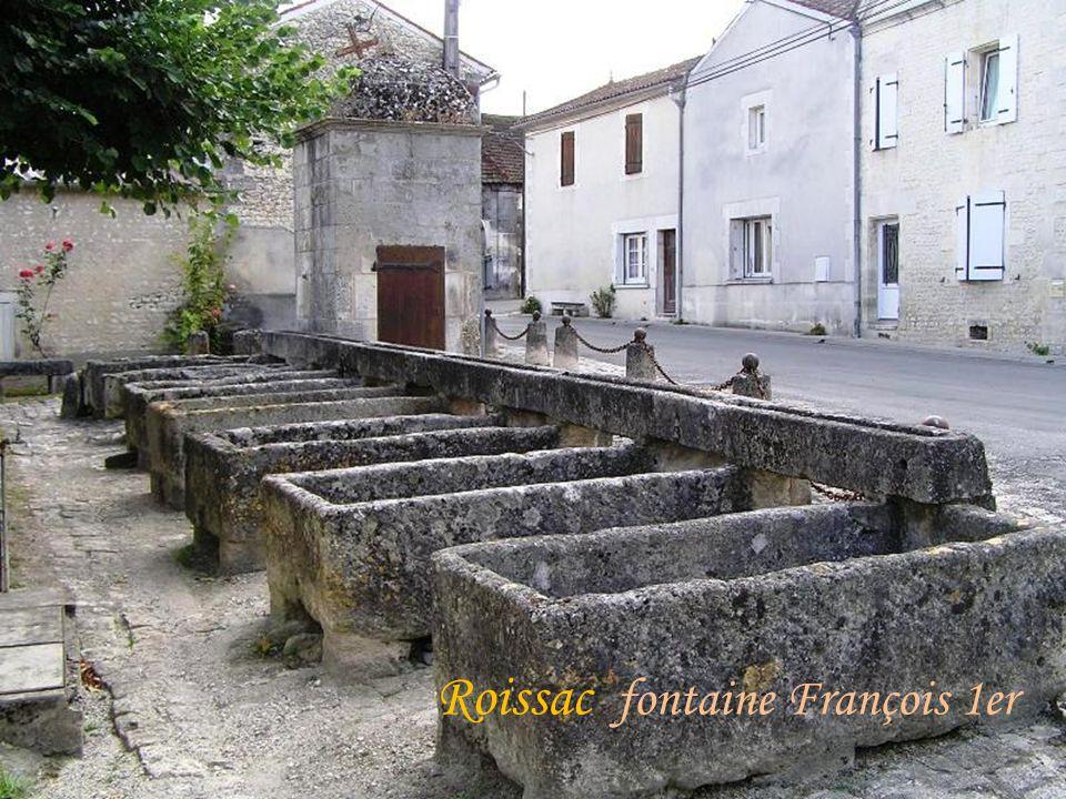 Roissac fontaine François 1er