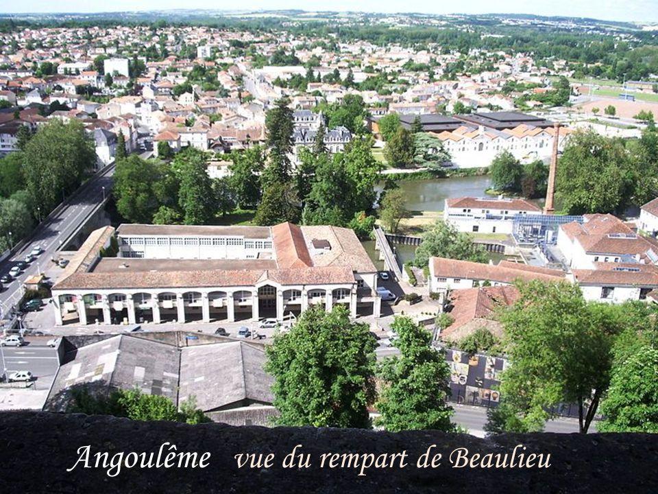 Angoulême vue du rempart de Beaulieu