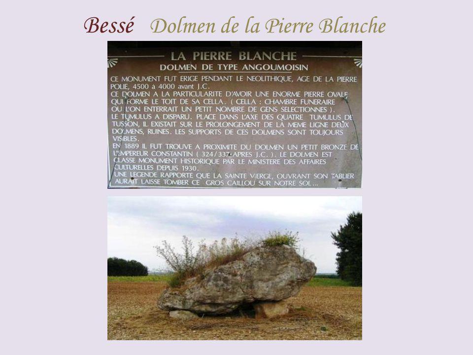 Bessé Dolmen de la Pierre Blanche