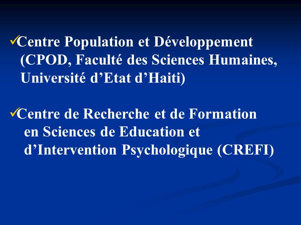 Centre Population et Développement