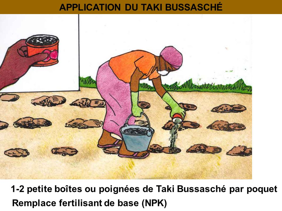APPLICATION DU TAKI BUSSASCHÉ