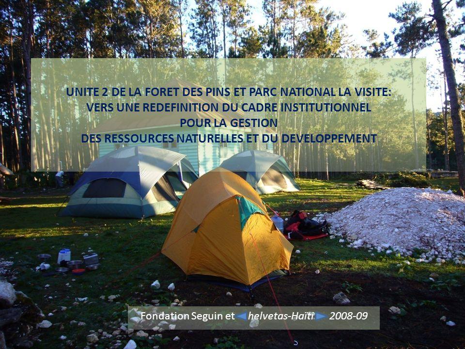 Fondation Seguin et helvetas-Haïti 2008-09