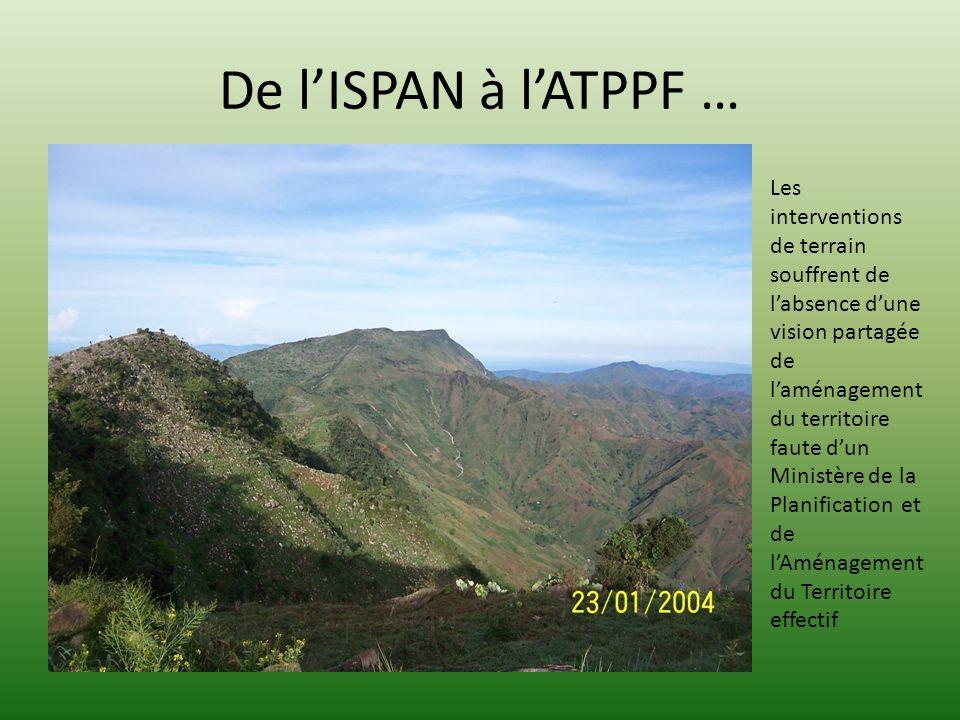 De l'ISPAN à l'ATPPF …