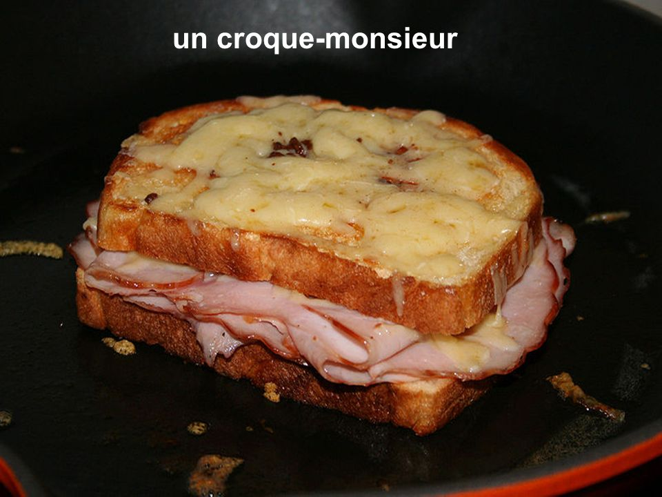 un croque-monsieur