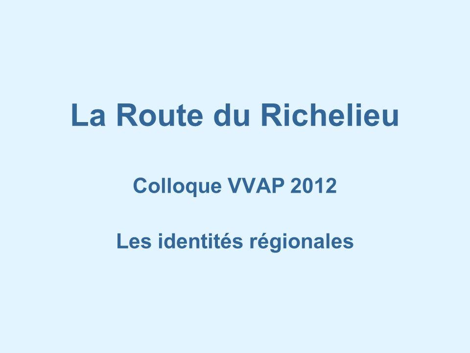 Colloque VVAP 2012 Les identités régionales
