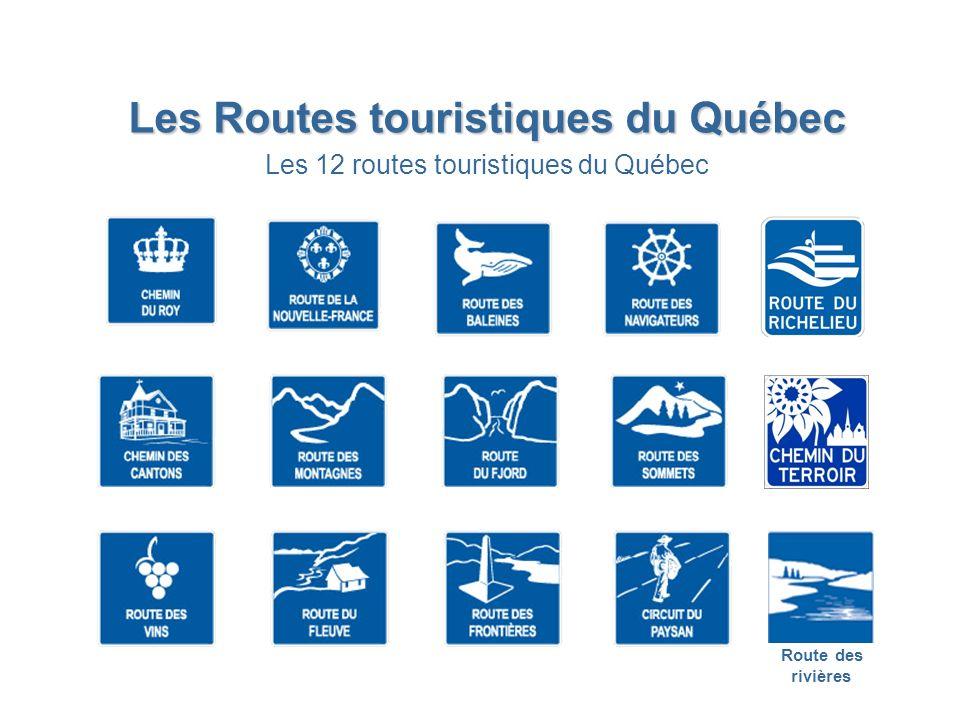 Les Routes touristiques du Québec