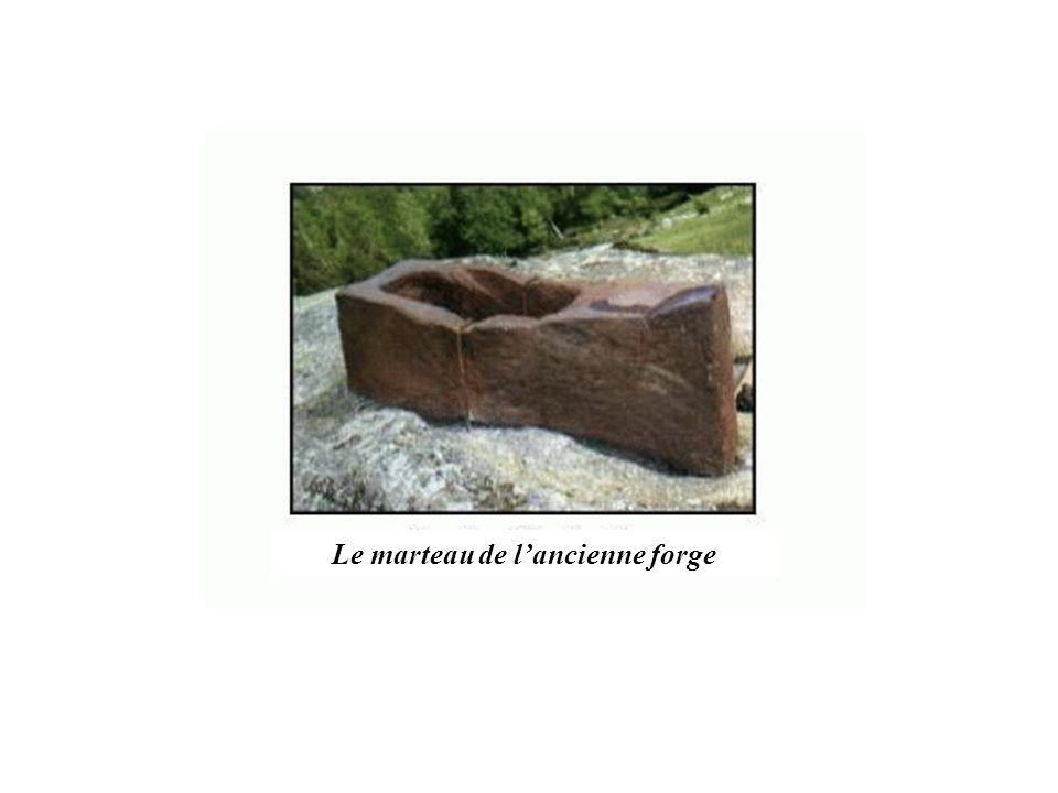 Le marteau de l'ancienne forge