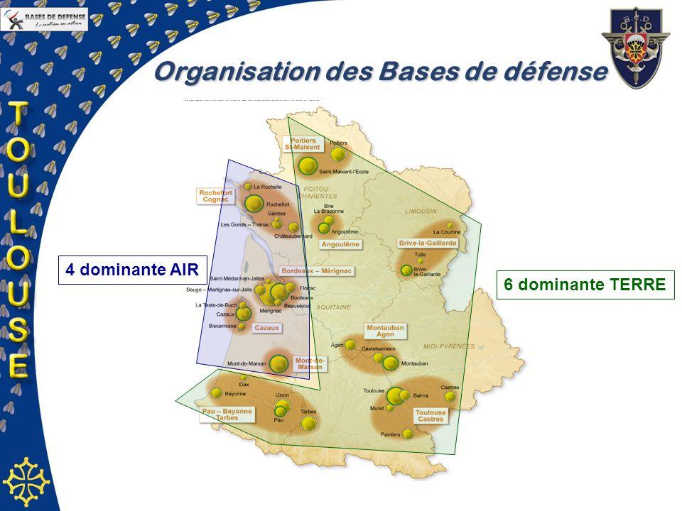 Organisation des Bases de défense
