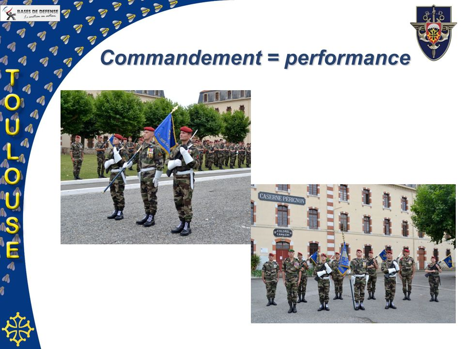 Commandement = performance