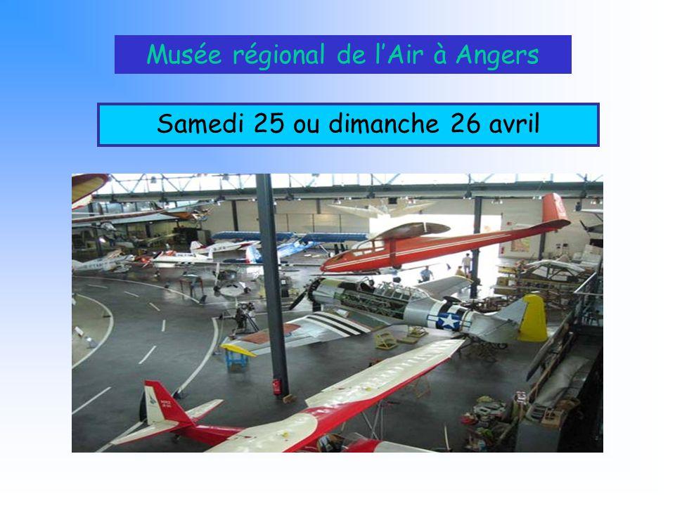 Musée régional de l'Air à Angers