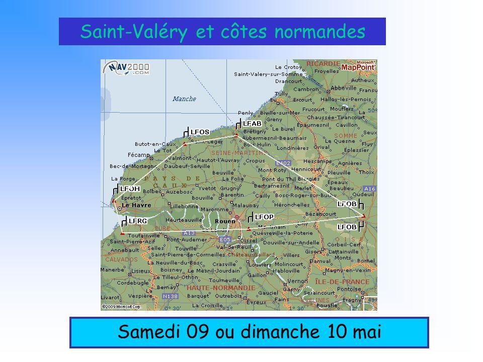 Saint-Valéry et côtes normandes