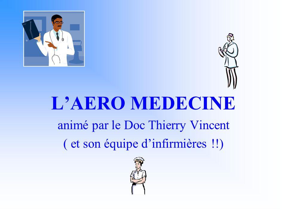 L'AERO MEDECINE animé par le Doc Thierry Vincent