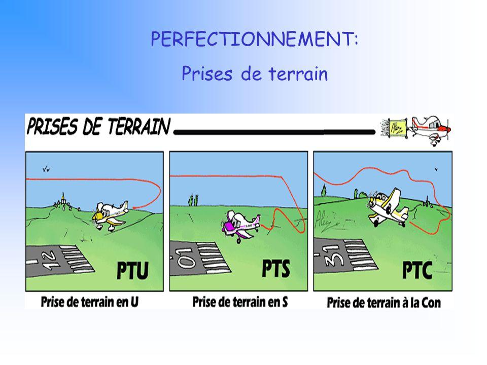 PERFECTIONNEMENT: Prises de terrain