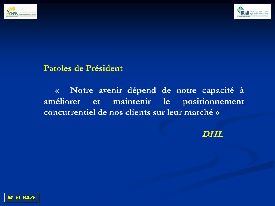Paroles de Président