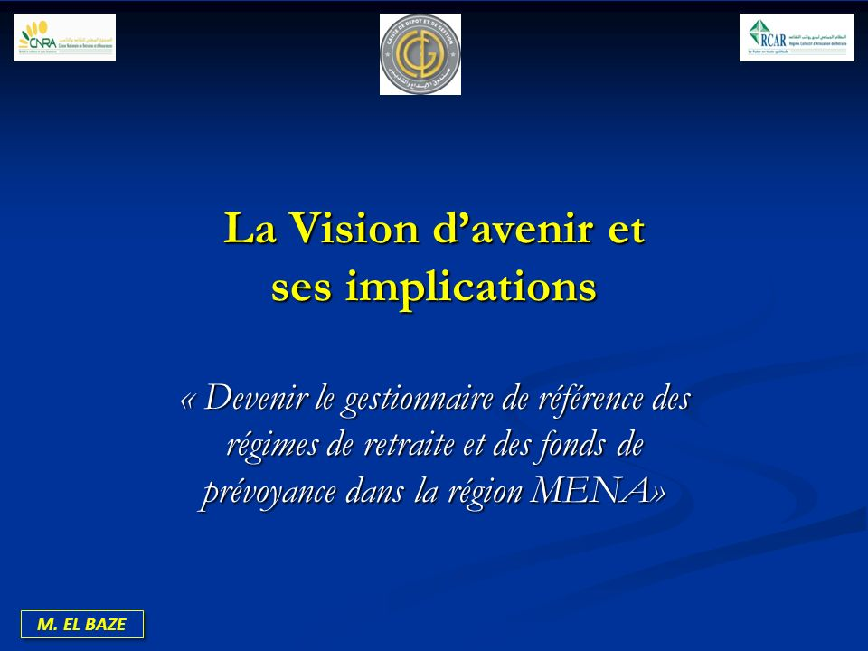 La Vision d'avenir et ses implications