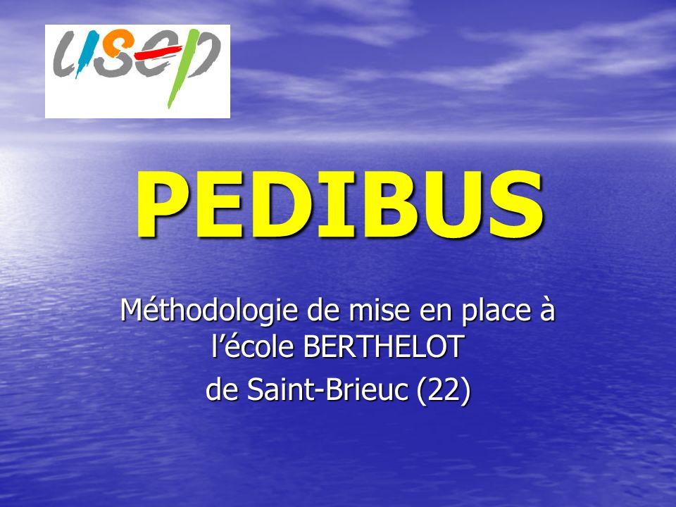 Méthodologie de mise en place à l'école BERTHELOT de Saint-Brieuc (22)