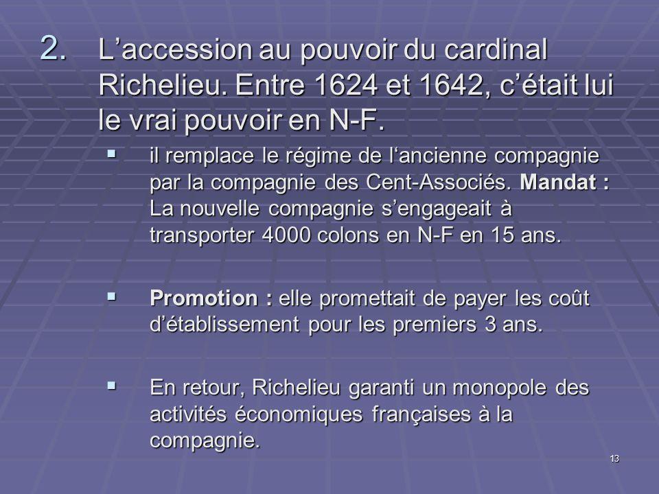 L'accession au pouvoir du cardinal Richelieu