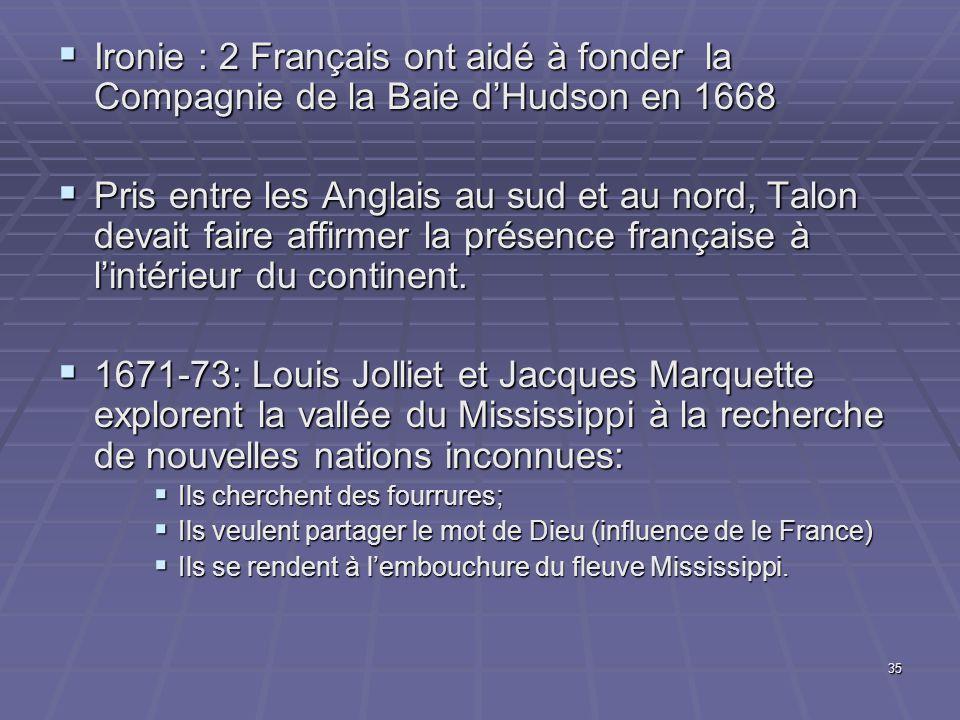 Ironie : 2 Français ont aidé à fonder la Compagnie de la Baie d'Hudson en 1668