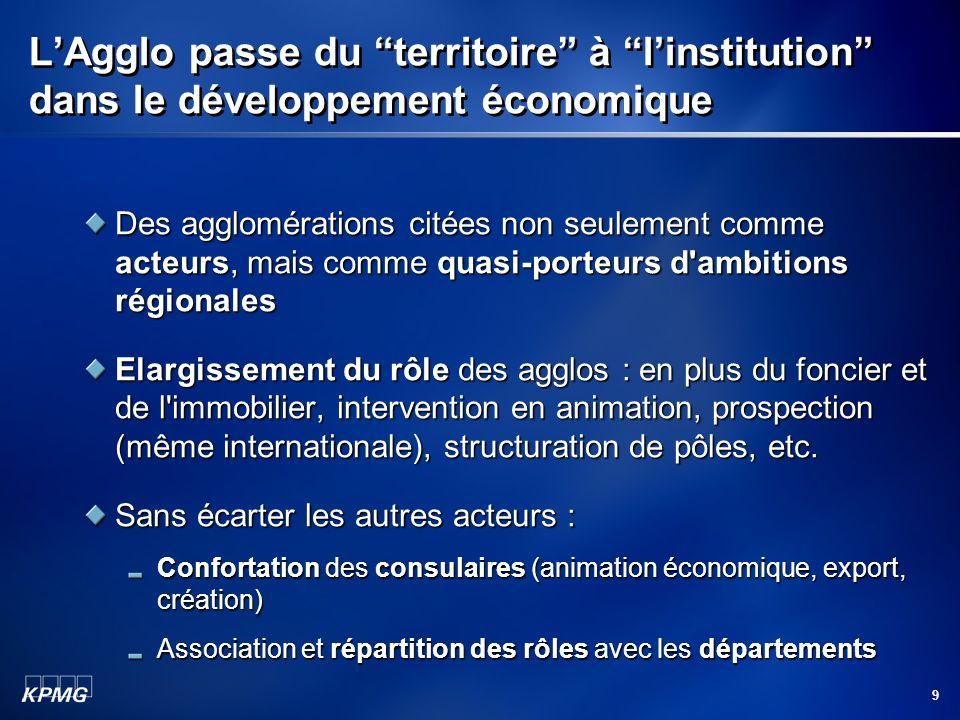 L'Agglo passe du territoire à l'institution dans le développement économique