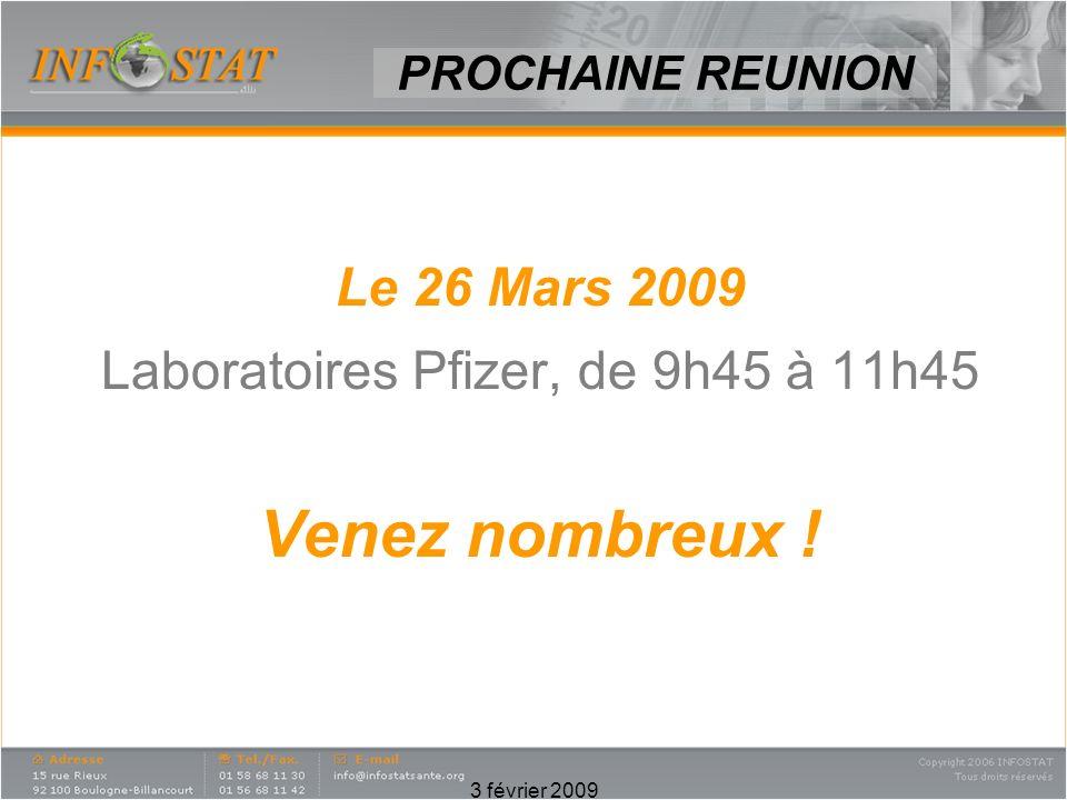 Laboratoires Pfizer, de 9h45 à 11h45