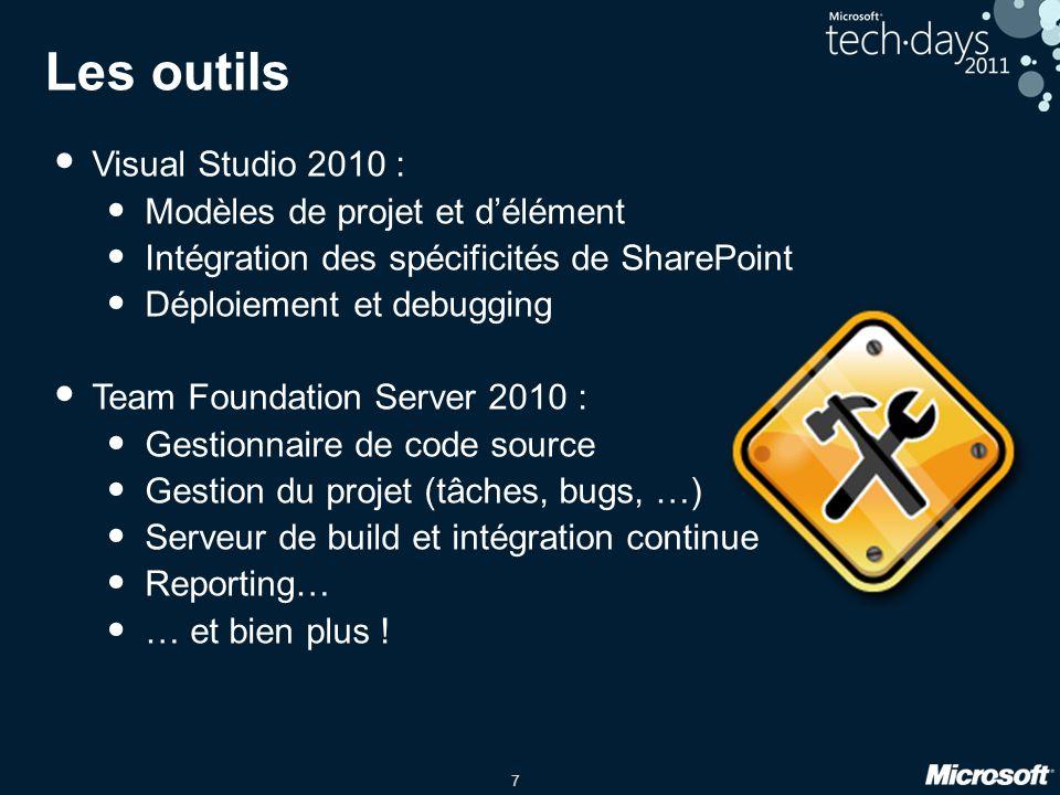 Les outils Visual Studio 2010 : Modèles de projet et d'élément