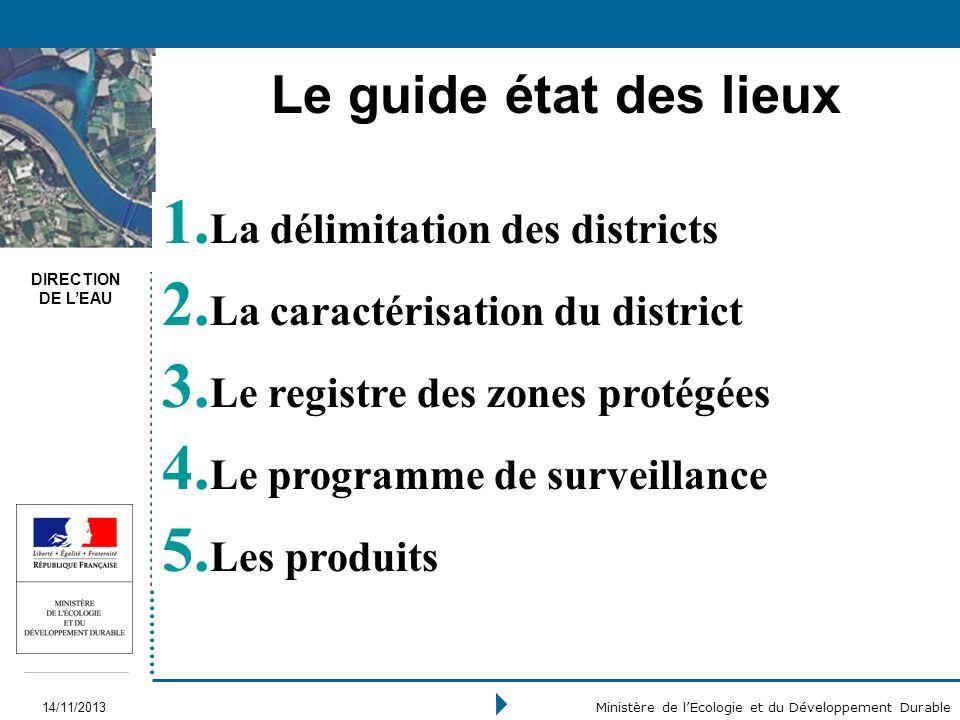 Le guide état des lieux La délimitation des districts