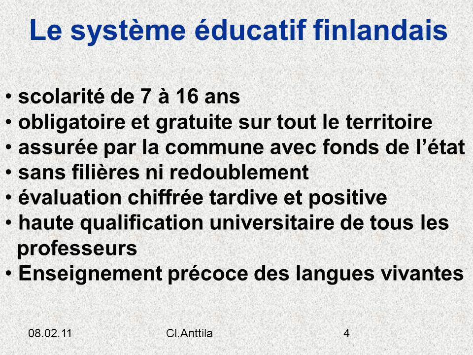 Le système éducatif finlandais