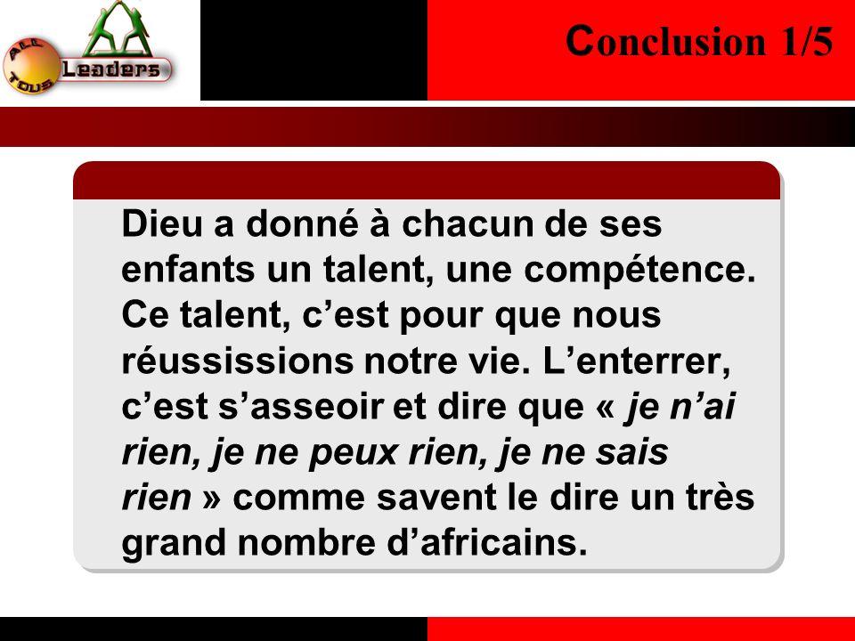 Conclusion 1/5