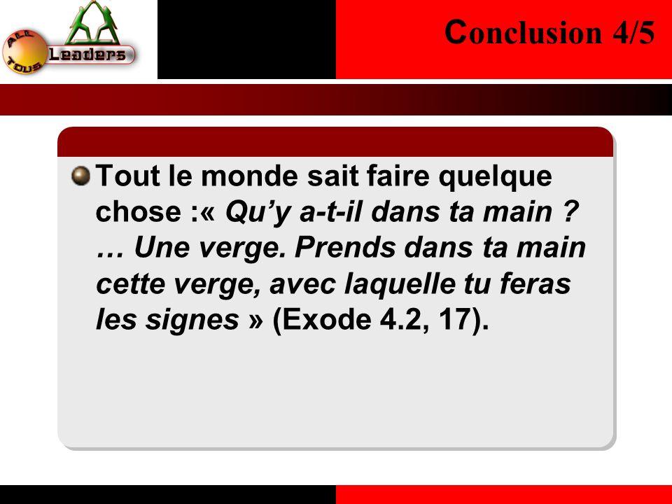 Conclusion 4/5