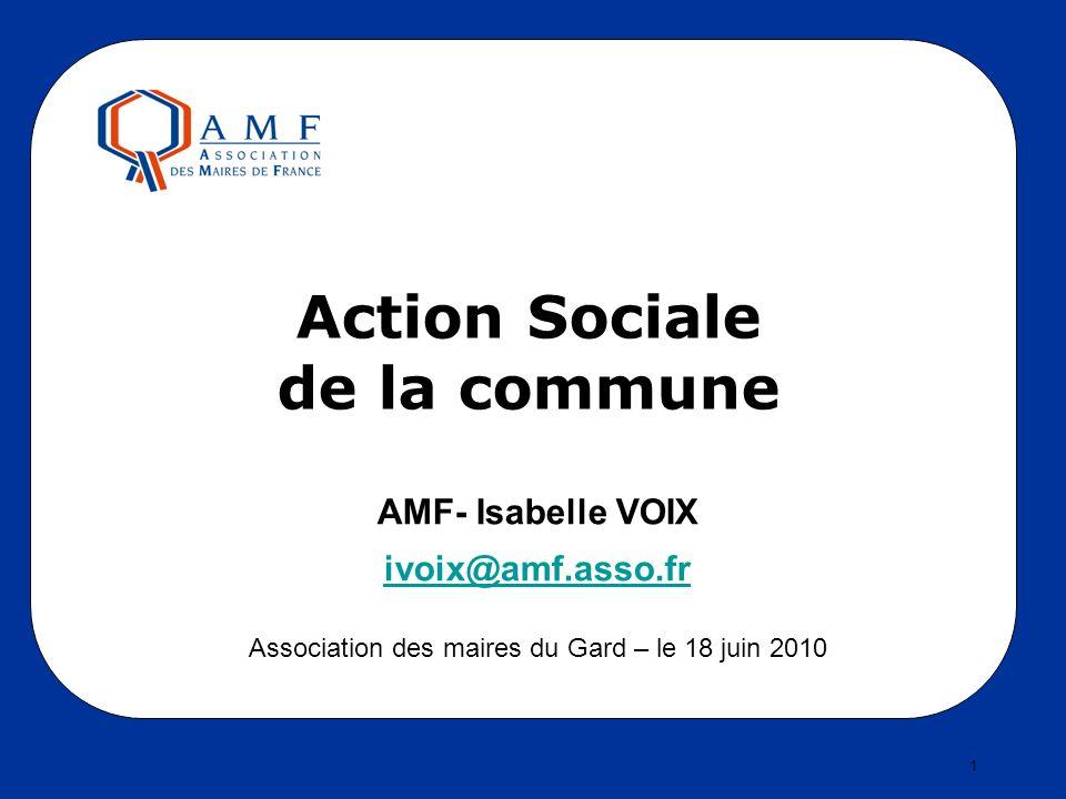 Action Sociale de la commune