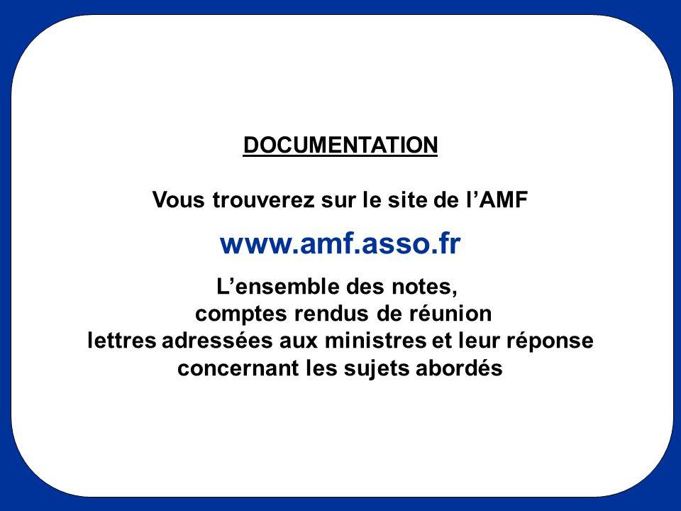 Vous trouverez sur le site de l'AMF concernant les sujets abordés