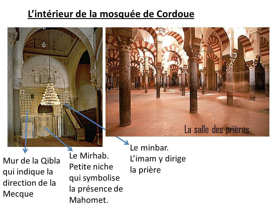 L'intérieur de la mosquée de Cordoue