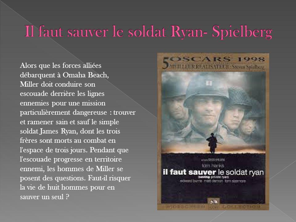 Il faut sauver le soldat Ryan- Spielberg
