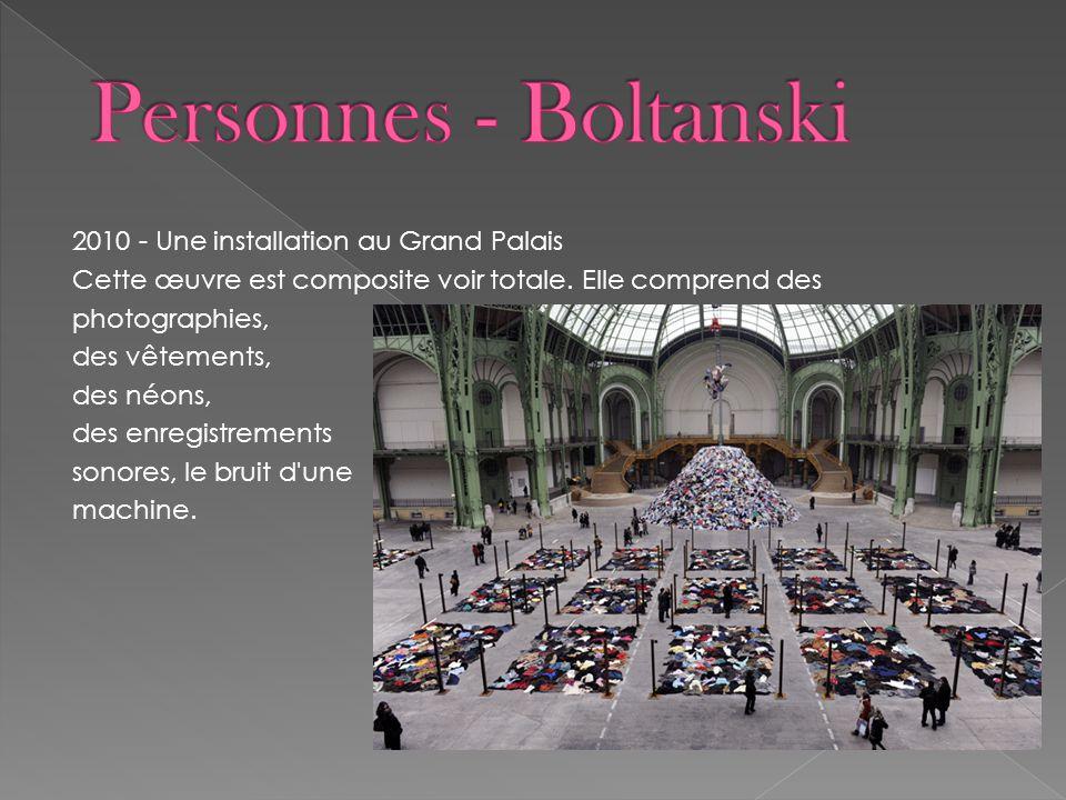 Personnes - Boltanski