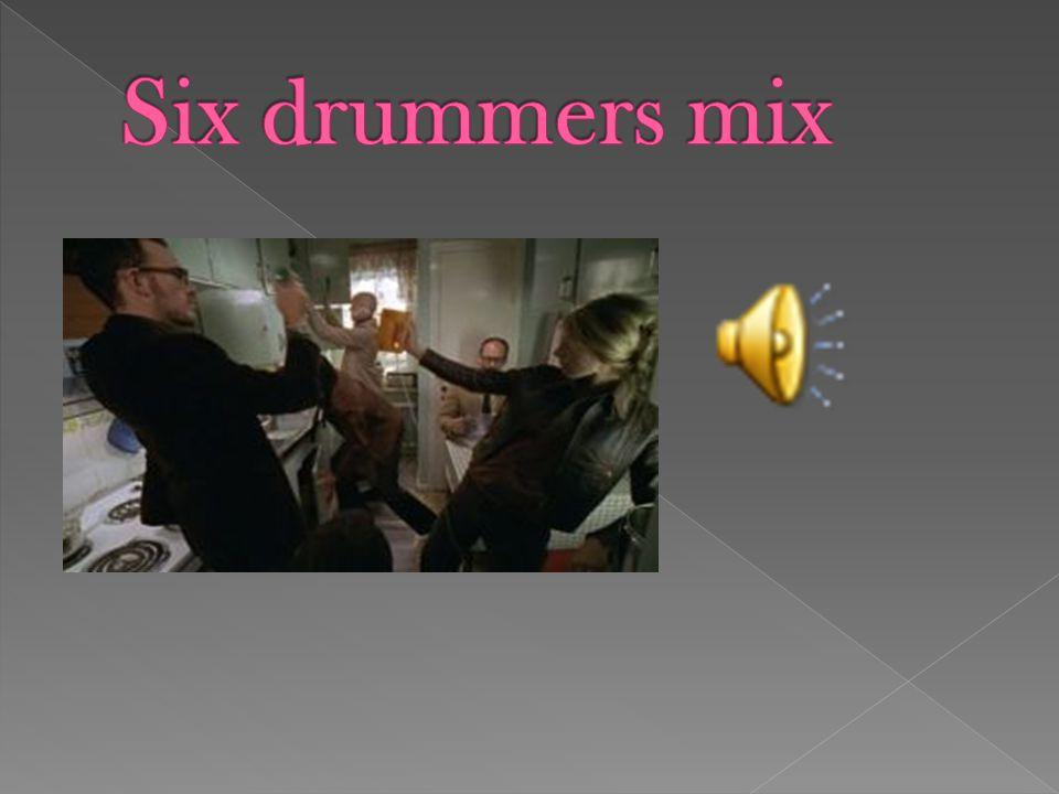 Six drummers mix