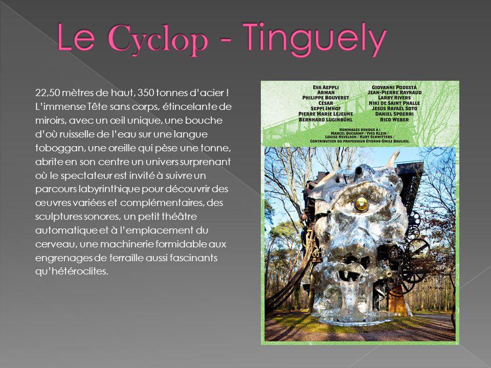 Le Cyclop - Tinguely