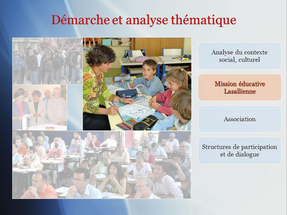 Démarche et analyse thématique