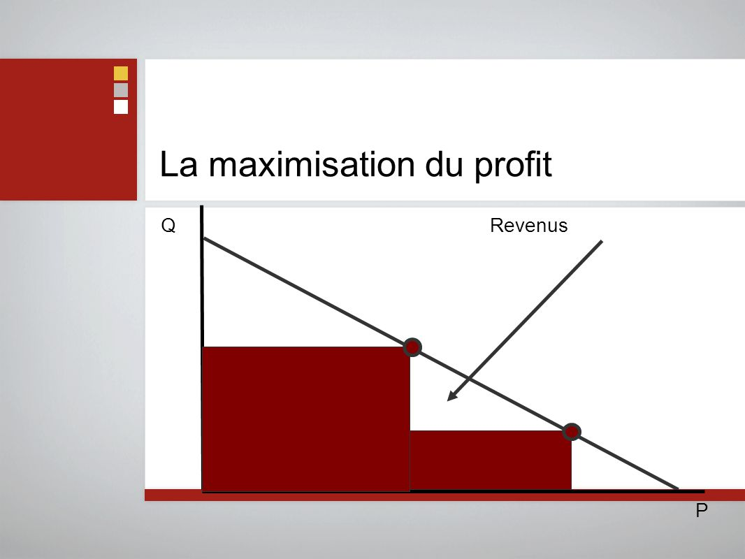 La maximisation du profit