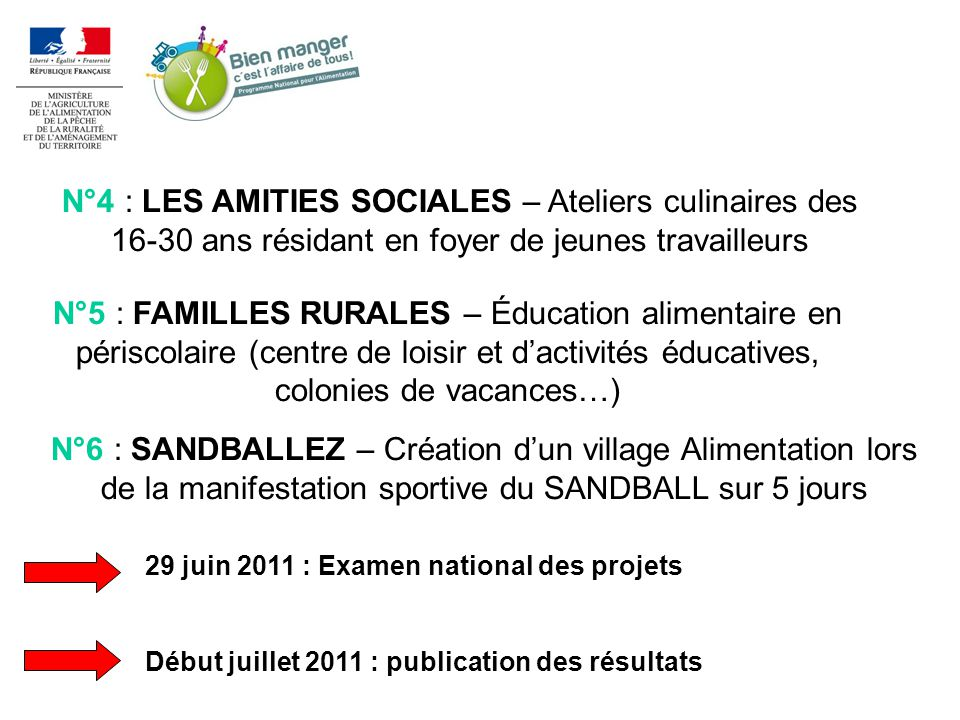 N°4 : LES AMITIES SOCIALES – Ateliers culinaires des