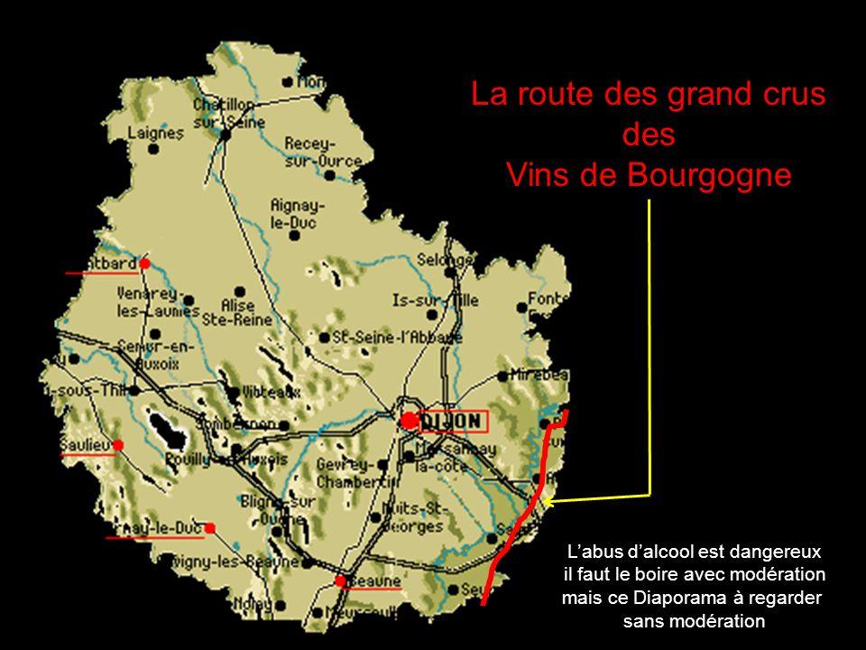 La route des grand crus des Vins de Bourgogne