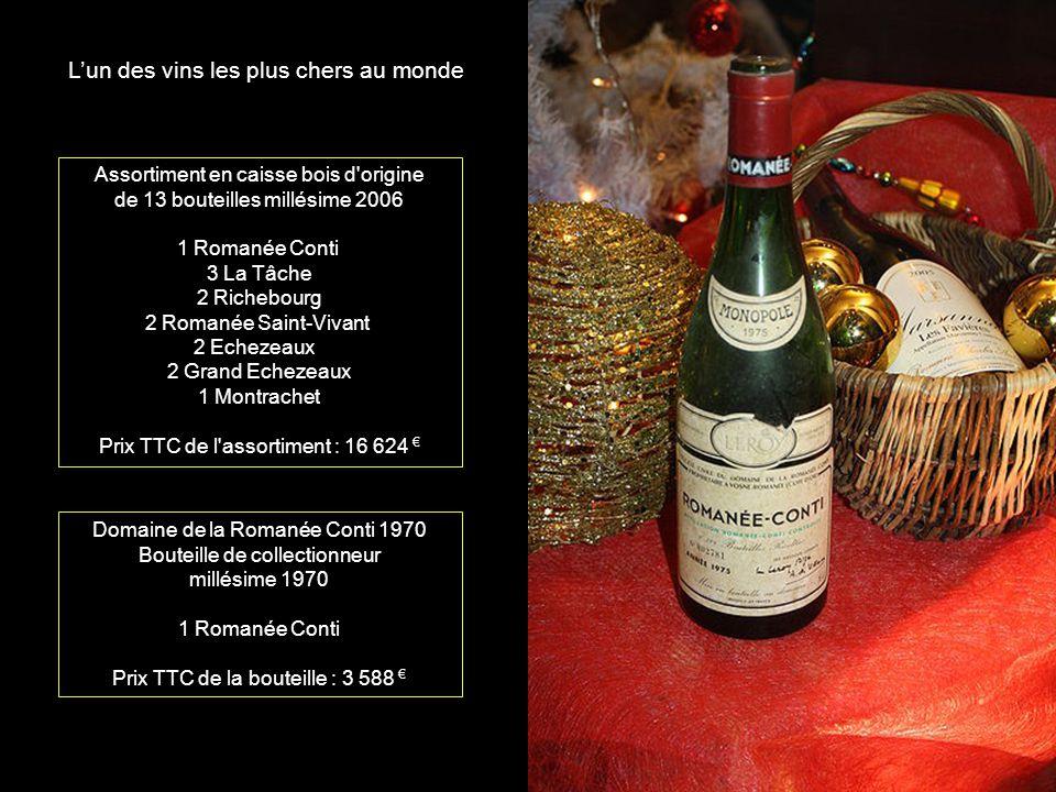 L'un des vins les plus chers au monde