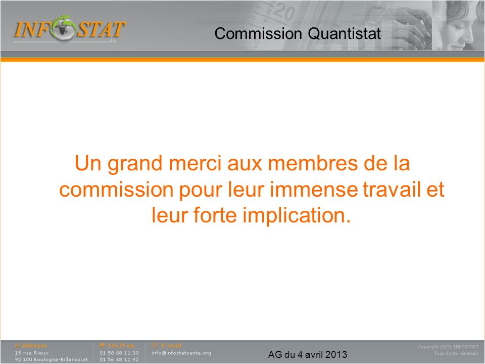Commission Quantistat