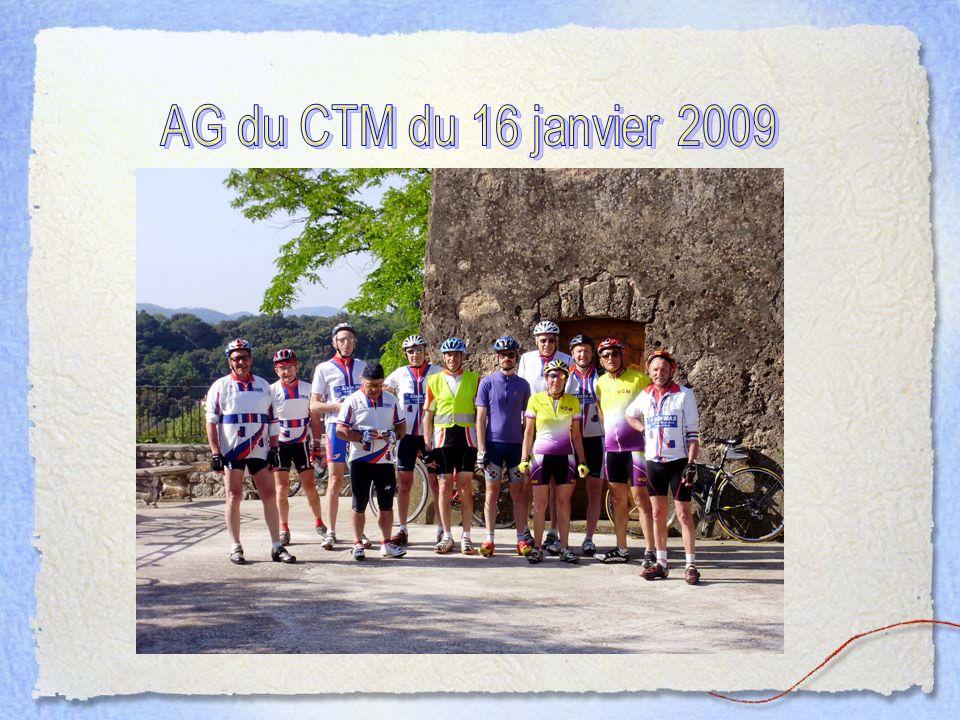 AG du CTM du 16 janvier 2009