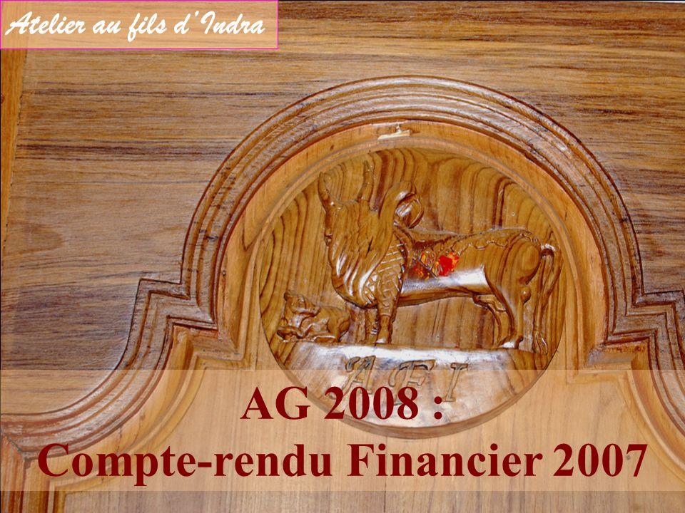 AG 2008 : Compte-rendu Financier 2007