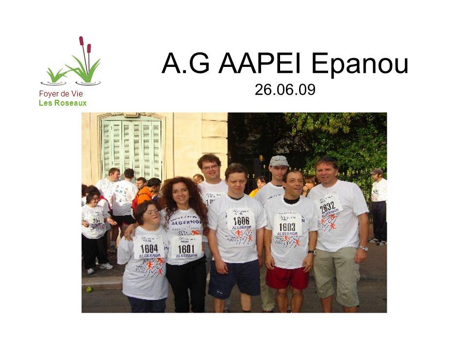 Foyer de Vie Les Roseaux A.G AAPEI Epanou 26.06.09