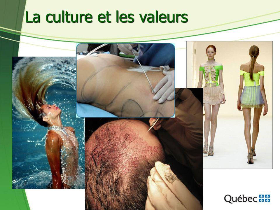 La culture et les valeurs
