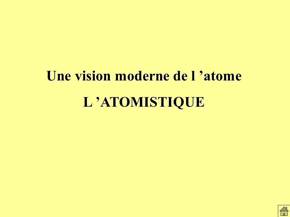 Une vision moderne de l 'atome