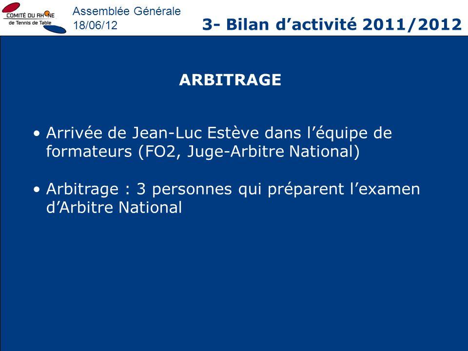 Arbitrage : 3 personnes qui préparent l'examen d'Arbitre National