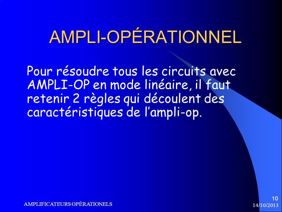 AMPLI-OPÉRATIONNEL