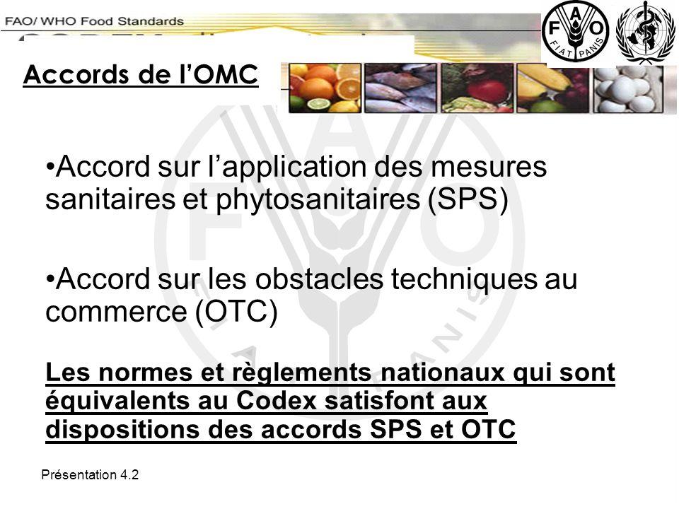 Accord sur les obstacles techniques au commerce (OTC)